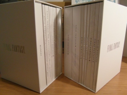 These two boxees contain all the discs in thin slipcases.