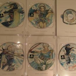 I - VI discs.