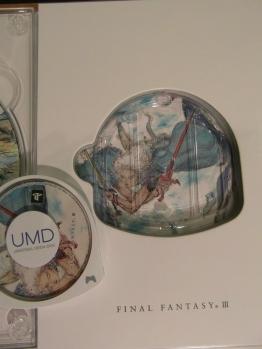 Close up of FFIII UMD.