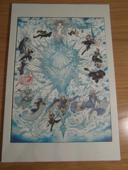 Amano's 25th Anniversary artwork.