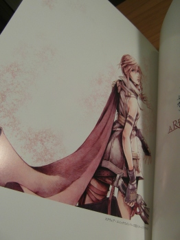 Nomura's Lightning artwork.
