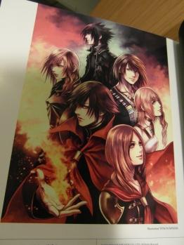 Nomura's XIII-2, Versus and Type Zero artwork.