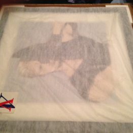 Mesh cover/bag which both prints were packaged in. It has a logo at the bottom which I assume is from the studio who sold/printed/framed the prints originally.