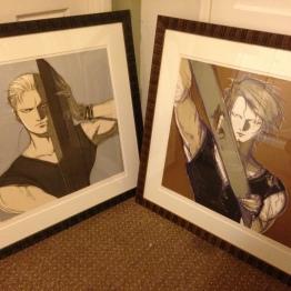 Shot of both prints together.