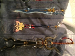 FFX Weapons: Caladbolg, Nirvana and Masamune