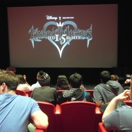Conference room: KH1.5 Logo displayed on the screen while we waited for it to start.