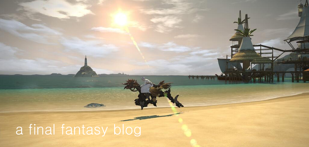 a final fantasy blog